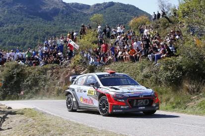 WRC Catalunya: Dani Sordo's lead tumbles as Sebastien Ogier charges