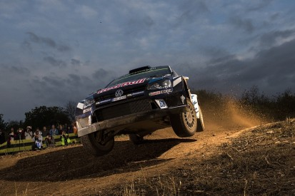 WRC Catalunya: VW's Ogier heads tight, four-driver fight for lead