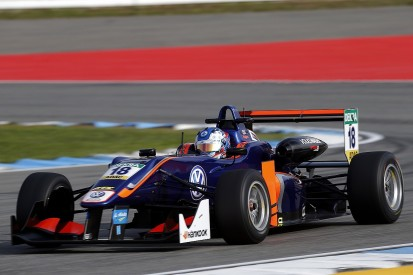 Carlin debutants Norris and Hughes top Hockenheim F3 practice