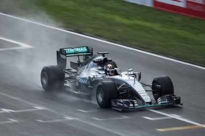 Pirelli frustrated by further rain in Mercedes 2017 tyre test