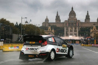 WRC Spain: Ott Tanak makes the most of wet Barcelona conditions