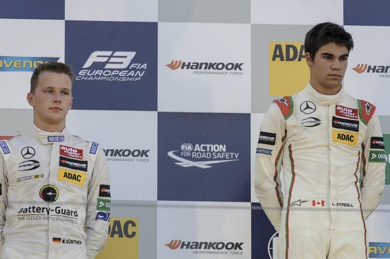 Gunther open to taking Williams F1-bound Stroll's Prema F3 role