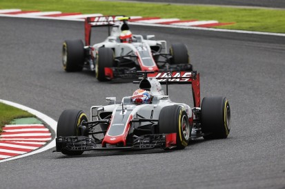Haas F1's form back to Bahrain levels in Japan, Grosjean believes