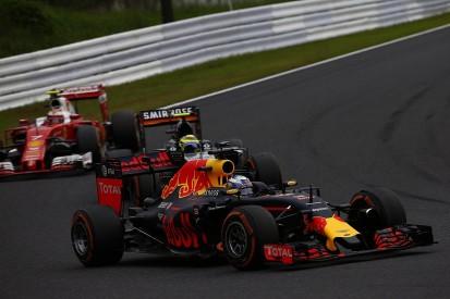 Ricciardo says Raikkonen's F1 grid penalty led to tough Japanese GP