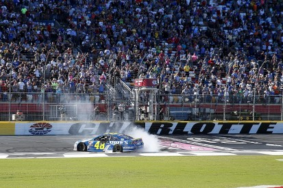 NASCAR Charlotte: Jimmie Johnson advances in 2016 Chase with victory