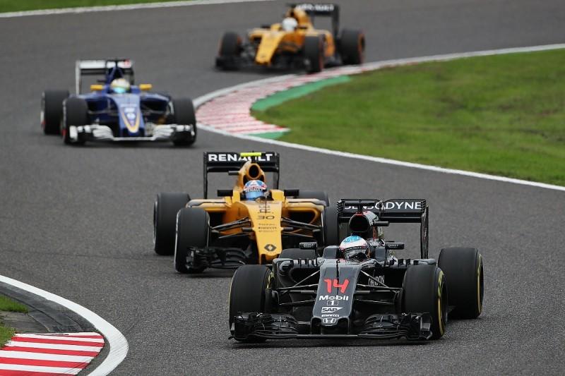 Fernando Alonso calls McLaren-Honda Suzuka pace a 'nasty surprise'