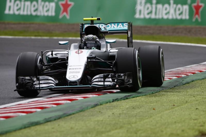 Japanese GP F1 FP3: Nico Rosberg fastest again at Suzuka