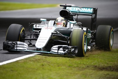 Hamilton happy to be close to Rosberg in Japanese GP qualifying
