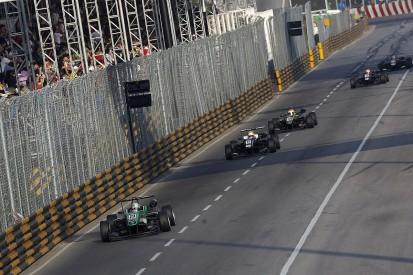 Chaos over Macau Formula 3 Grand Prix driver qualification rules