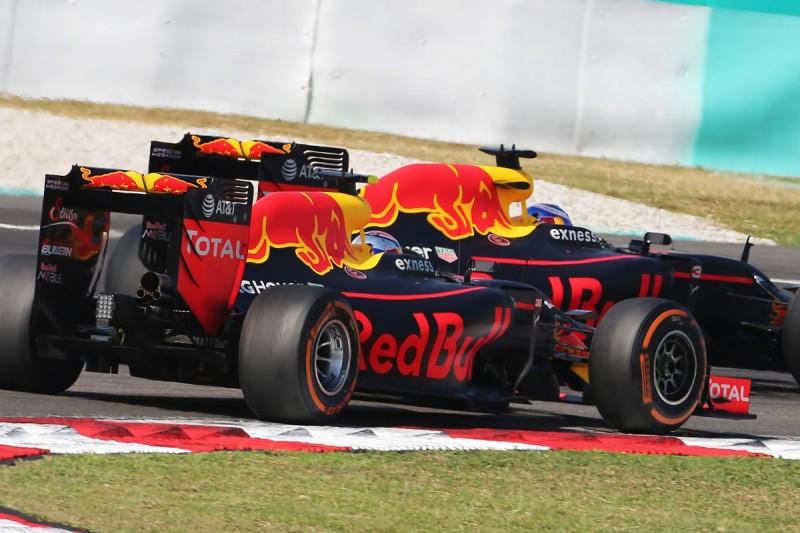 Red Bull's Ricciardo/Verstappen split over Malaysian GP F1 battle
