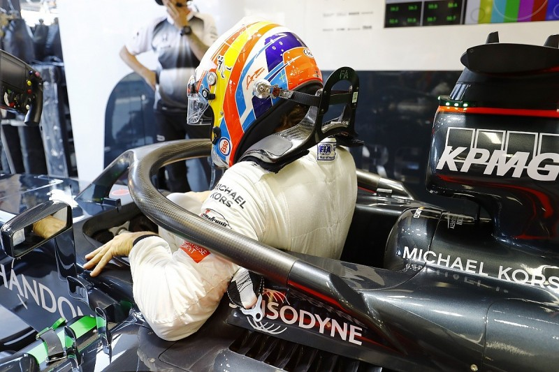 Fernando Alonso suggests F1 halo should be removable for safety