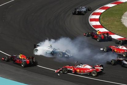 Vettel gets grid penalty for Turn 1 Malaysian GP Rosberg clash