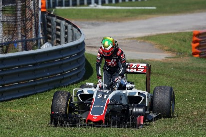Haas fined after Gutierrez loses wheel during Malaysian Grand Prix