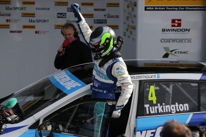 Brands Hatch BTCC: Second Turkington win sets up four-way showdown
