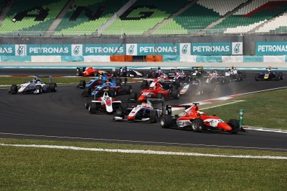 GP3 Sepang: Jake Dennis wins race two in Malaysia