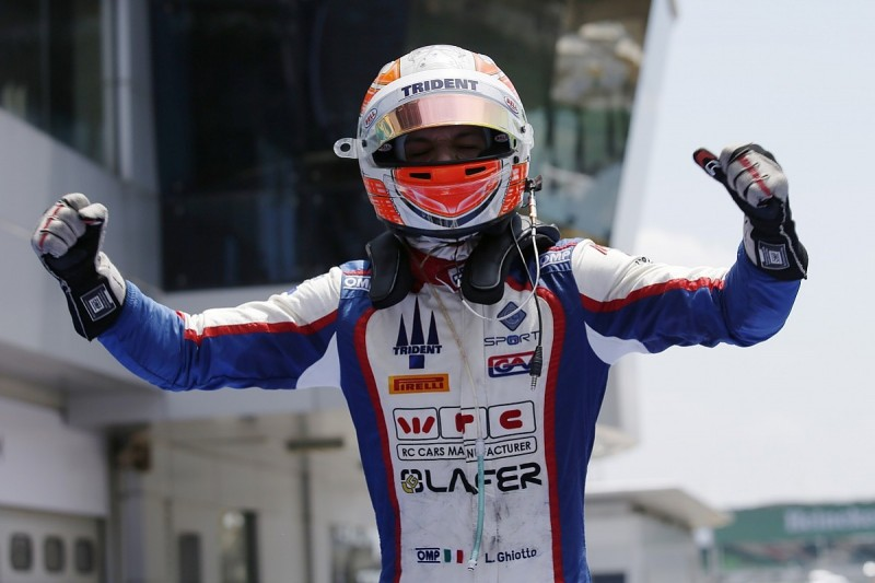 GP2 Sepang: Luca Ghiotto takes maiden victory in race two