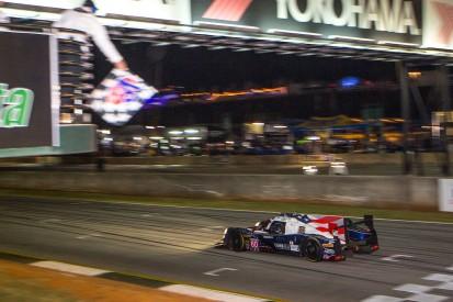 Narrow Petit Le Mans IMSA finale victory for Michael Shank Racing