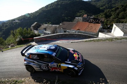 WRC Corsica: VW's Ogier builds lead as Meeke hits trouble