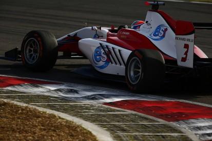 GP3 Malaysia: Albon wins as Leclerc survives team-mate collision