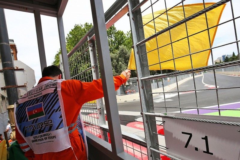 Formula 1 drivers told to abandon laps for double waved yellow flags