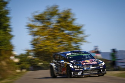 WRC Corsica: Volkswagen's Ogier leads Meeke after first morning