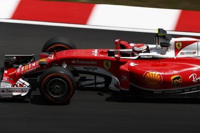 Ferrari's Kimi Raikkonen surprised by pace in Malaysian GP practice