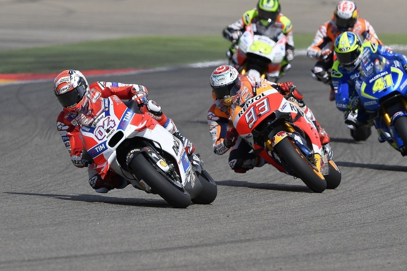 Andrea Dovizioso frustrated by Ducati's ongoing MotoGP tyre dramas