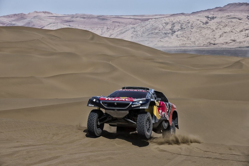 Briton Harry Hunt gets first privateer Peugeot for 2017 Dakar Rally