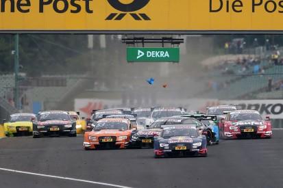 DTM Hungaroring: Ekstrom wins as title rivals collide at the start