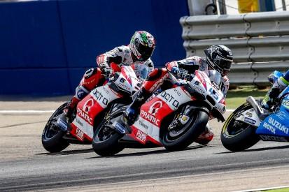 Redding livid with Pramac team-mate Petrucci after Aragon GP crash