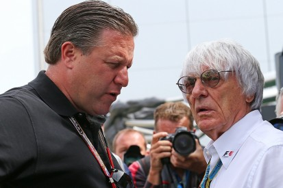 Leading F1 commercial figure Zak Brown steps down from current role