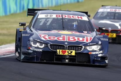DTM points leader Marco Wittmann excluded from Hungary race two