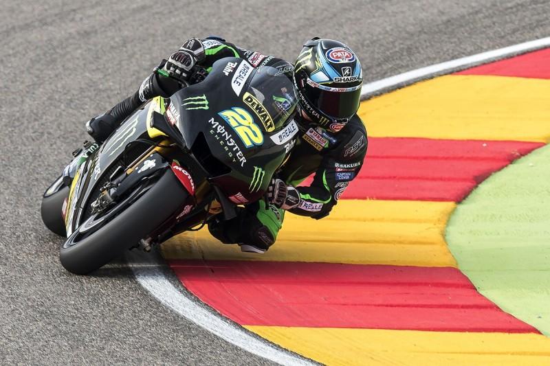 Alex Lowes ruled out of MotoGP Aragon GP after Saturday crash