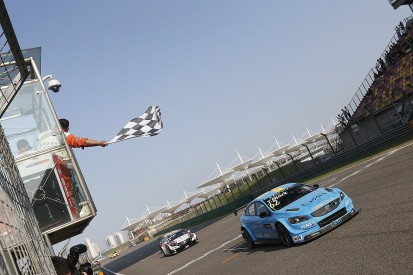 Volvo gets first WTCC win with last lap Thed Bjork pass in China