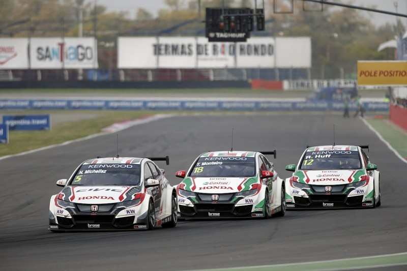Honda extends its WTCC commitment to 2017