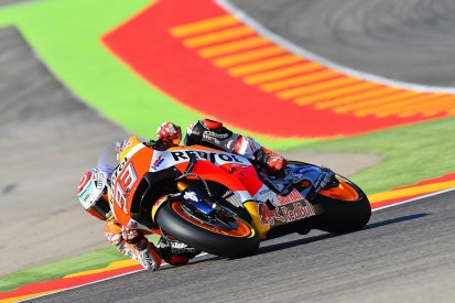 Aragon MotoGP: Marc Marquez tops chaotic FP3 session