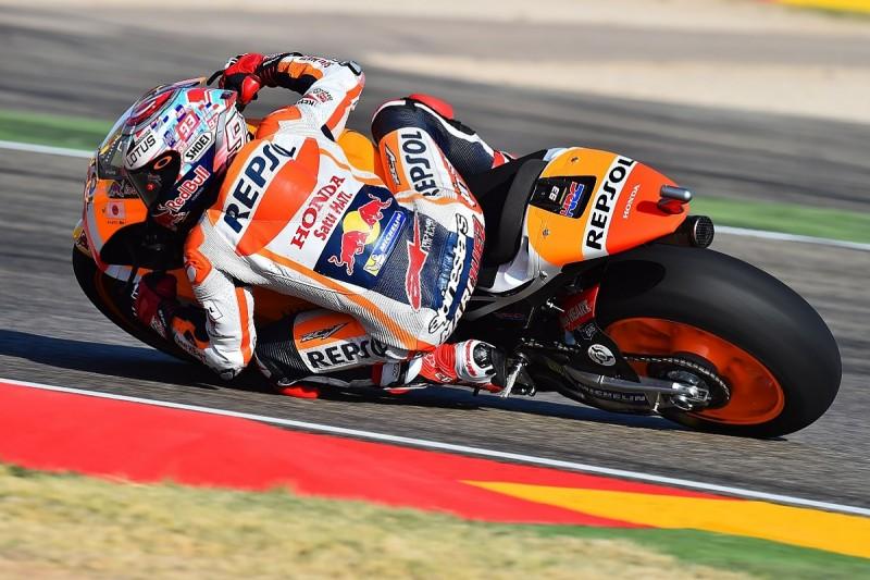 Aragon MotoGP: Dominant pole position for Marc Marquez