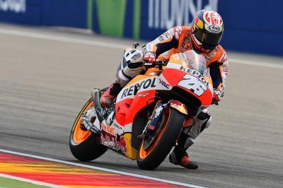Aragon MotoGP: Dani Pedrosa leads all-Honda top three in practice