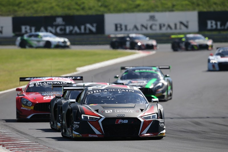 WRT Audi's Robin Frijns switches cars for Blancpain GT decider
