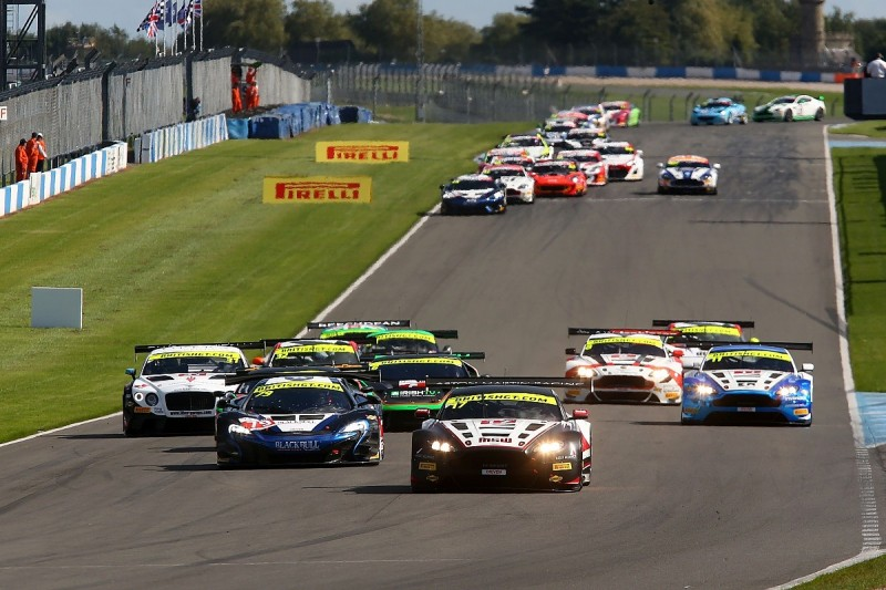 British GT Championship announces 2017 revamp as GT3 class hits low