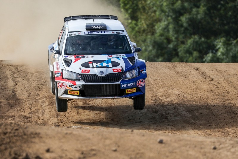 Kalle Rovanpera: The 15-year-old becoming a hot WRC property
