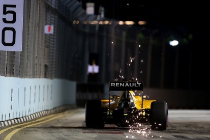 Singapore GP: Renault's Magnussen completed race without water