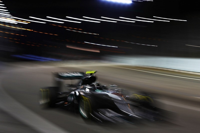 Singapore GP the best Mercedes F1 boss Wolff has seen from Rosberg