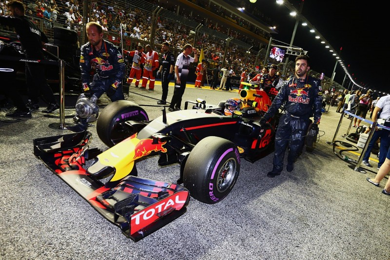 FIA wouldn't let Red Bull fix Max Verstappen's clutch in Singapore