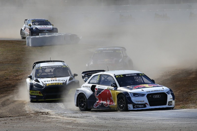 Barcelona World Rallycross: Ekstrom wins and retakes points lead