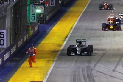 FIA: Procedures not followed when marshal was on Singapore GP track