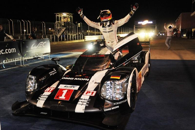Porsche's Webber/Hartley/Bernhard beat faster Audi in Austin WEC