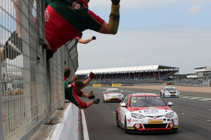 Silverstone BTCC: Ash Sutton leads MG one-two in race one