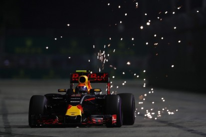 Verstappen's Red Bull 'was driving me' in Singapore GP qualifying