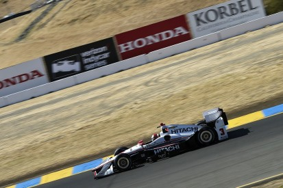 Sonoma IndyCar: Helio Castroneves heads all-Penske Friday top three